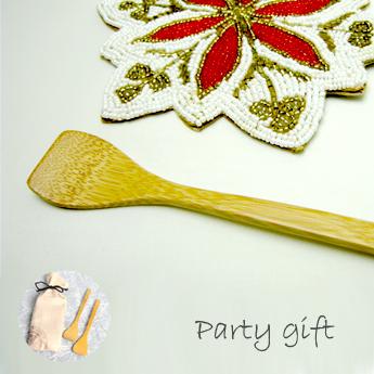 クリスマスプレゼント、パーティギフト、アイスクリームスプーン