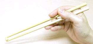 正しいお箸の使い方